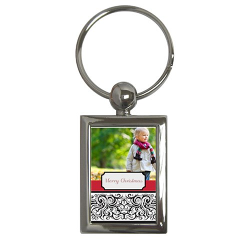 Christmas By May   Key Chain (rectangle)   Xrqlwmkscdvc   Www Artscow Com Front