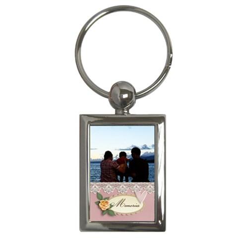 Keychain: Family Memories By Jennyl   Key Chain (rectangle)   Lzeozi5fcx17   Www Artscow Com Front