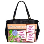All of the Pieces of My Heart Office3 - Oversize Office Handbag (2 Sides)