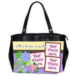 All of the Pieces of My Heart Office4 - Oversize Office Handbag (2 Sides)