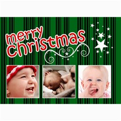 Christmas Collection  By Picklestar Scraps   5  X 7  Photo Cards   Yczqlxy8zq7y   Www Artscow Com 7 x5 Photo Card - 4
