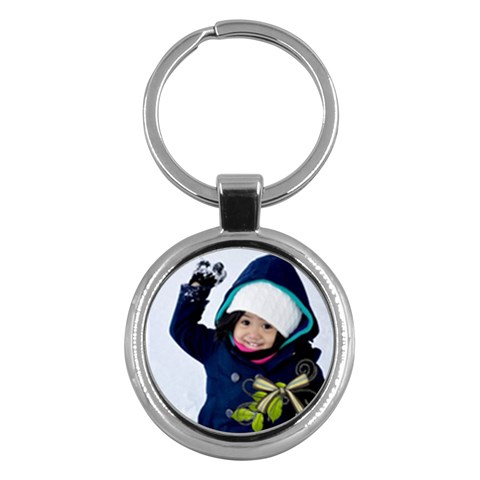 Keychain   Love By Angel   Key Chain (round)   039kax84lp8v   Www Artscow Com Front