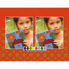 Wall Calendar 11 X 8 5 : Artworks By Jennyl   Wall Calendar 11  X 8 5  (12 Months)   Bvu9yormctaw   Www Artscow Com Month