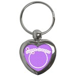 Heart key-chain Sweet dreams 02 - Key Chain (Heart)