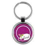 Round Key-chain cherry 01 - Key Chain (Round)