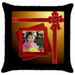 My Birthday thow Pillow - Throw Pillow Case (Black)
