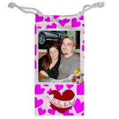 Heart Jewelry Bag By Kim Blair   Jewelry Bag   Kdd8mig8m7mn   Www Artscow Com Back