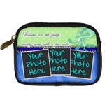 Families are like fudge - Blue - Digital Camera Leather Case