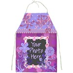 Purple Vine Apron - Full Print Apron