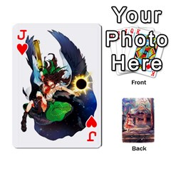 Jack Touhou Playing Card Deck Reimu Back By K Kaze   Playing Cards 54 Designs   6b2xwy4bizyw   Www Artscow Com Front - HeartJ