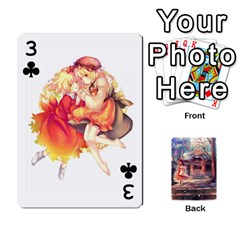 Touhou Playing Card Deck Reimu Back By K Kaze   Playing Cards 54 Designs   6b2xwy4bizyw   Www Artscow Com Front - Club3