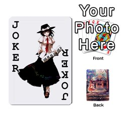 Touhou Playing Card Deck Reimu Back By K Kaze   Playing Cards 54 Designs   6b2xwy4bizyw   Www Artscow Com Front - Joker1