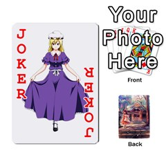 Touhou Playing Card Deck Reimu Back By K Kaze   Playing Cards 54 Designs   6b2xwy4bizyw   Www Artscow Com Front - Joker2