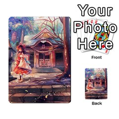 Touhou Playing Card Deck Reimu Back By K Kaze   Playing Cards 54 Designs   6b2xwy4bizyw   Www Artscow Com Back