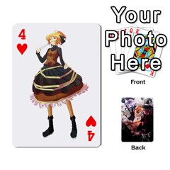 Touhou Playing Card Deck Marisa Back By K Kaze   Playing Cards 54 Designs   Uas4h52vk41q   Www Artscow Com Front - Heart4