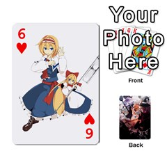 Touhou Playing Card Deck Marisa Back By K Kaze   Playing Cards 54 Designs   Uas4h52vk41q   Www Artscow Com Front - Heart6