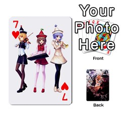 Touhou Playing Card Deck Marisa Back By K Kaze   Playing Cards 54 Designs   Uas4h52vk41q   Www Artscow Com Front - Heart7