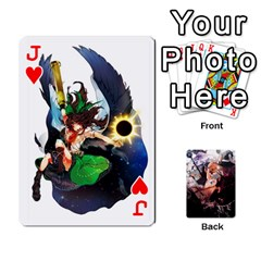 Jack Touhou Playing Card Deck Marisa Back By K Kaze   Playing Cards 54 Designs   Uas4h52vk41q   Www Artscow Com Front - HeartJ