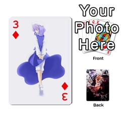 Touhou Playing Card Deck Marisa Back By K Kaze   Playing Cards 54 Designs   Uas4h52vk41q   Www Artscow Com Front - Diamond3