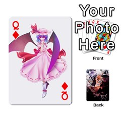 Queen Touhou Playing Card Deck Marisa Back By K Kaze   Playing Cards 54 Designs   Uas4h52vk41q   Www Artscow Com Front - DiamondQ