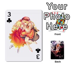 Touhou Playing Card Deck Marisa Back By K Kaze   Playing Cards 54 Designs   Uas4h52vk41q   Www Artscow Com Front - Club3
