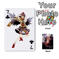 Touhou Playing Card Deck Marisa Back By K Kaze   Playing Cards 54 Designs   Uas4h52vk41q   Www Artscow Com Front - Club7