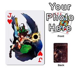 Jack Touhou Playing Card Deck Rinnosuke Back By K Kaze   Playing Cards 54 Designs   N3m8xk3rxusm   Www Artscow Com Front - HeartJ