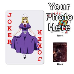 Touhou Playing Card Deck Rinnosuke Back By K Kaze   Playing Cards 54 Designs   N3m8xk3rxusm   Www Artscow Com Front - Joker2