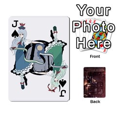 Jack Touhou Playing Card Deck Rinnosuke Back By K Kaze   Playing Cards 54 Designs   N3m8xk3rxusm   Www Artscow Com Front - SpadeJ