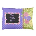 Pink Vine Pillow Case 2