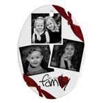 Family Oval Ornament by Amanda Bunn - Ornament (Oval)