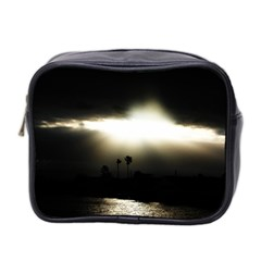 Sunset Glory Mini Toiletries Bag (two Sides)