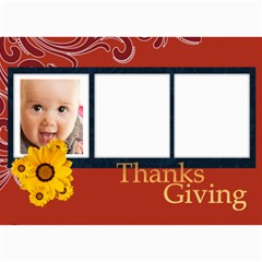 Thanks Giving By Joely   5  X 7  Photo Cards   Pegd7ow0fg4s   Www Artscow Com 7 x5 Photo Card - 3