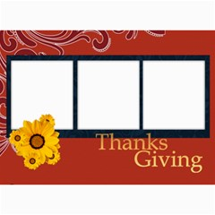 Thanks Giving By Joely   5  X 7  Photo Cards   Pegd7ow0fg4s   Www Artscow Com 7 x5 Photo Card - 7