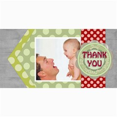 Thank You By Joely   4  X 8  Photo Cards   Rl6o6vz3o34p   Www Artscow Com 8 x4 Photo Card - 3