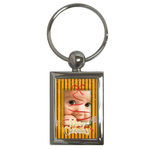 Christmas By Joely   Key Chain (rectangle)   Iqem1a86l4yd   Www Artscow Com Front