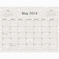 2013 Pretty Calendar (12 Month) by Lil May 2013