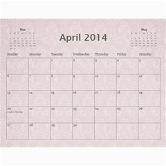 2013 Pretty Calendar (12 Month) by Lil Apr 2013