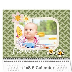 Every Year By Berry   Wall Calendar 11  X 8 5  (12 Months)   N0sd14zn0712   Www Artscow Com Cover