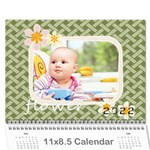 every year - Wall Calendar 11  x 8.5  (12-Months)