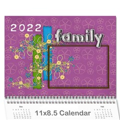 2019 A Year In Review   11x8 5 Calendar By Angel   Wall Calendar 11  X 8 5  (12 Months)   7ktl9w6ud3l0   Www Artscow Com Cover