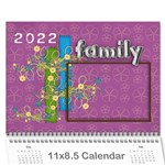 A year in review - 11x8.5 calendar - Wall Calendar 11 x 8.5 (12-Months)