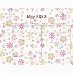 2019 A Year In Review   11x8 5 Calendar By Angel   Wall Calendar 11  X 8 5  (12 Months)   7ktl9w6ud3l0   Www Artscow Com May 2019