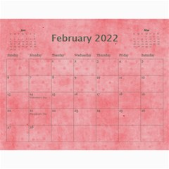 2019 A Year In Review   11x8 5 Calendar By Angel   Wall Calendar 11  X 8 5  (12 Months)   7ktl9w6ud3l0   Www Artscow Com Feb 2019