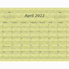 2019 A Year In Review   11x8 5 Calendar By Angel   Wall Calendar 11  X 8 5  (12 Months)   7ktl9w6ud3l0   Www Artscow Com Apr 2019