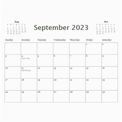 My General Purpose Picture Calendar 11x8 5 By Deborah   Wall Calendar 11  X 8 5  (12 Months)   Vw59jxe0z20v   Www Artscow Com Sep 2017
