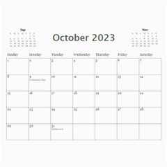 My General Purpose Picture Calendar 11x8 5 By Deborah   Wall Calendar 11  X 8 5  (12 Months)   Vw59jxe0z20v   Www Artscow Com Oct 2017