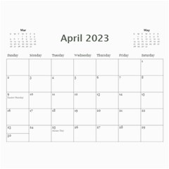 My General Purpose Picture Calendar 11x8 5 By Deborah   Wall Calendar 11  X 8 5  (12 Months)   Vw59jxe0z20v   Www Artscow Com Apr 2017