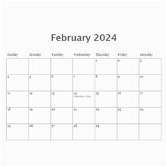 Landscape Picture Calendar By Deborah   Wall Calendar 11  X 8 5  (12 Months)   Hcvkfm5h4iby   Www Artscow Com Feb 2018