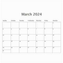 Landscape Picture Calendar By Deborah   Wall Calendar 11  X 8 5  (12 Months)   Hcvkfm5h4iby   Www Artscow Com Mar 2017